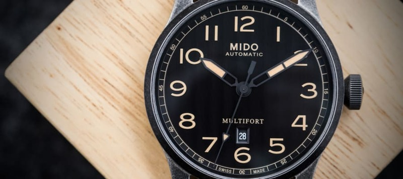 Hands-On with the Mido Multifort Escape Horween Edition