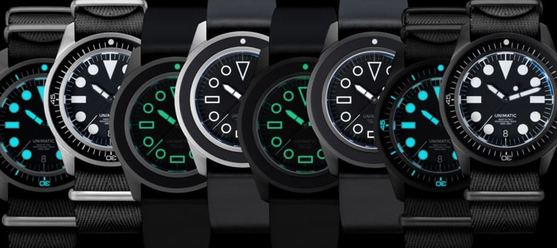 Introducing Four Limited Edition U1 Divers (and a New Bracelet) from Unimatic