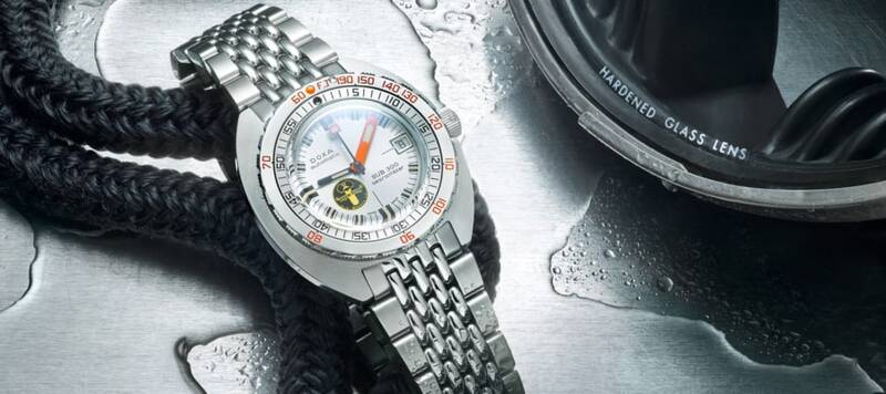 """Introducing the DOXA SUB 300 Searambler """"Silver Lung,"""" the Latest Revival From the Storied Dive Brand"""