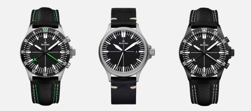 Introducing the DS 30 and the DC 80 Central-Minutes Chronograph, Two Solid Tool Watches from Damasko